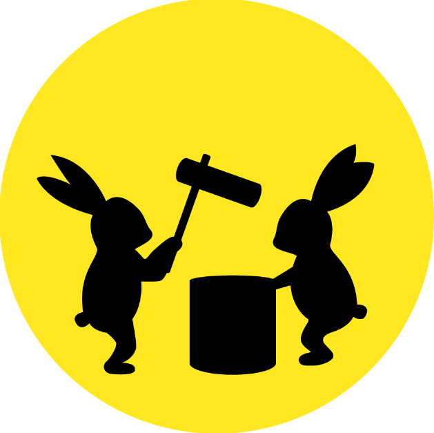 お月見ウサギ