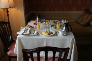 ディズニーホテル朝食