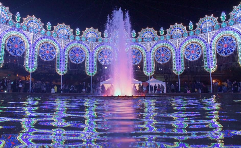 ルミナリエ東遊園地