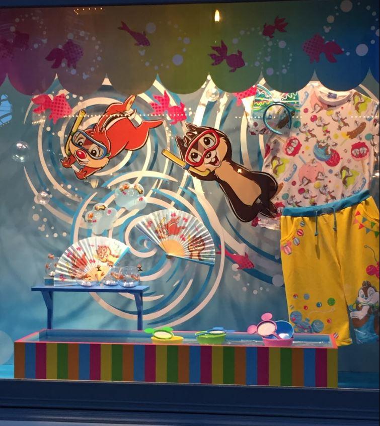 ディズニー夏祭りチップとデール