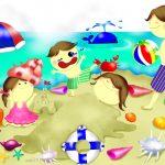 三重県海水浴場子ども